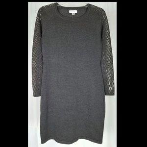 Calvin Klein Knit Rhinestone Bling Dress XL